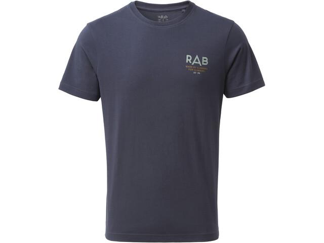 Rab Stance Sunrise T-shirt Homme, deep ink